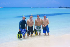 Homens e esportes de água imagens de stock royalty free