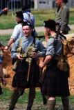 Homens em kilts escoceses imagem de stock royalty free