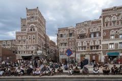 Homens em Yemen foto de stock royalty free