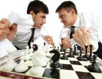 Homens furiosos imagem de stock royalty free