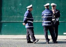 Homens italianos da polícia Imagem de Stock Royalty Free