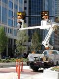 Homens no trabalho Imagens de Stock