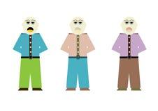 Homens nos ternos Imagem de Stock
