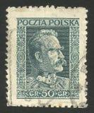 Homens políticos, marechal Pilsudski Fotos de Stock