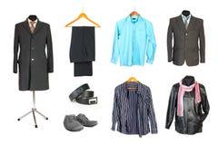 Homens que vestem a coleção Imagens de Stock Royalty Free