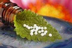 Homeopatía Fotografía de archivo libre de regalías
