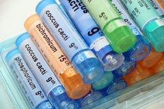 Homeopatía Fotografía de archivo