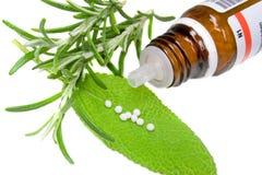 Homeopatía Fotos de archivo libres de regalías
