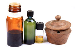 Homeopathic and ayurvedic Royalty Free Stock Photos