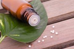 Homeopathic globule Royalty Free Stock Photo