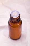 Homeopathic globule bottle Royalty Free Stock Photography