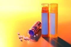 homeopathic läkarbehandling arkivfoto
