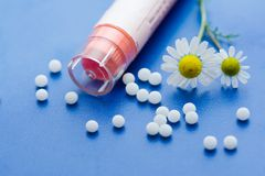 homeopathic läkarbehandling royaltyfri foto