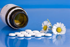 Homeopathic medication Royalty Free Stock Photography