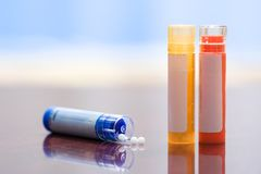 Homeopathic medication Stock Photography