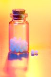 Homeopathic medication Stock Images