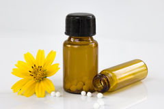 Homeopathic Medicine Stock Photo