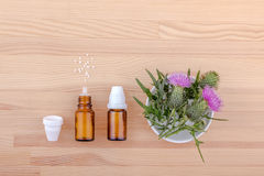 Homeopathic medicine Royalty Free Stock Photo