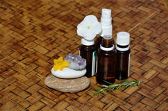 Homeopathic remedies and elements Stock Photos