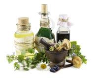 Homeopathic still life 4 Stock Photos