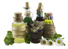 Homeopathic still life 2 Royalty Free Stock Images