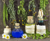 Homeopathic still life Royalty Free Stock Photos