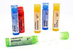 Homeopathic treatment Royalty Free Stock Image