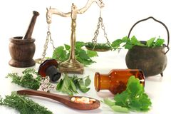 Homeopathie Stock Afbeelding