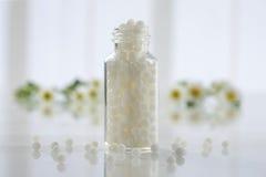 Homeopathische geneeskunde royalty-vrije stock afbeeldingen