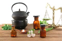 Homeopathy Royalty Free Stock Photography