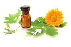 Homeopathy Royalty Free Stock Photos