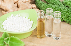 homeopathy Foto de Stock Royalty Free