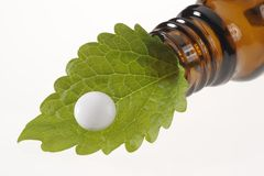homeopathy alternative medicine Stock Photography