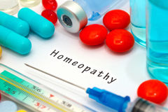 Homeopathy Stock Images