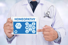 HOMEOPATHY stock photo