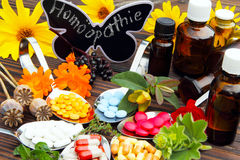 Homeopathy Royalty Free Stock Images