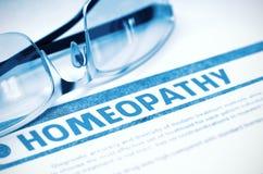 Homeopathy. Medicine. 3D Illustration. Royalty Free Stock Photos