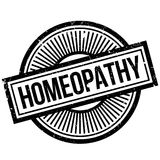 Homeopathy rubber stamp. Grunge design with dust scratches. Effects can be easily removed for a clean, crisp look. Color is easily changed Stock Photography