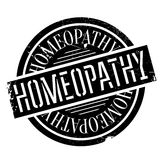 Homeopathy rubber stamp. Grunge design with dust scratches. Effects can be easily removed for a clean, crisp look. Color is easily changed Royalty Free Stock Photo