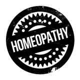 Homeopathy rubber stamp. Grunge design with dust scratches. Effects can be easily removed for a clean, crisp look. Color is easily changed Royalty Free Stock Photography