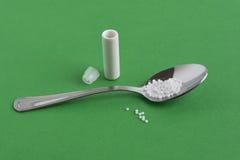 Homeopatii grypy zapobieganie Obrazy Royalty Free