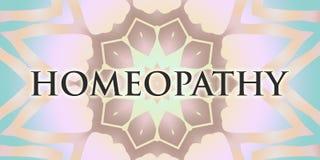 Homeopatii mandala Zdjęcie Royalty Free