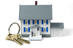 Homeowner 2. Photo of a Model Home and Keys