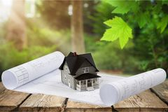 Homeowner. Real estate tax finance financial business Royalty Free Stock Photography