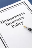 Homeowners Insurance Royalty Free Stock Image