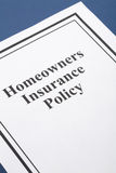 Homeowners Insurance Royalty Free Stock Images