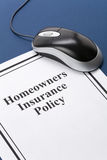 Homeowners Insurance Policy Royalty Free Stock Image