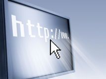 Homepage Stock Image