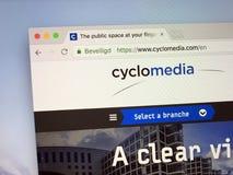 Homepage av polymathen royaltyfri foto
