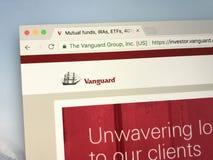 Homepage do grupo da vanguarda Imagens de Stock